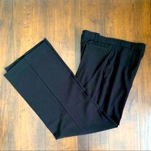 Black Petite Dress Pants Size 8P Business Slacks